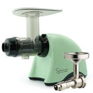 Omega Sana EUJ-707PG Juicer in Pistachio Green