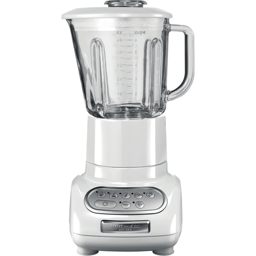 KitchenAid Artisan Blender with Culinary Jar in White