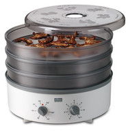 Stockli Dehydrator with Stainless Steel Trays & Timer