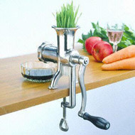 Manual Wheatgrass and Fruit Juicer