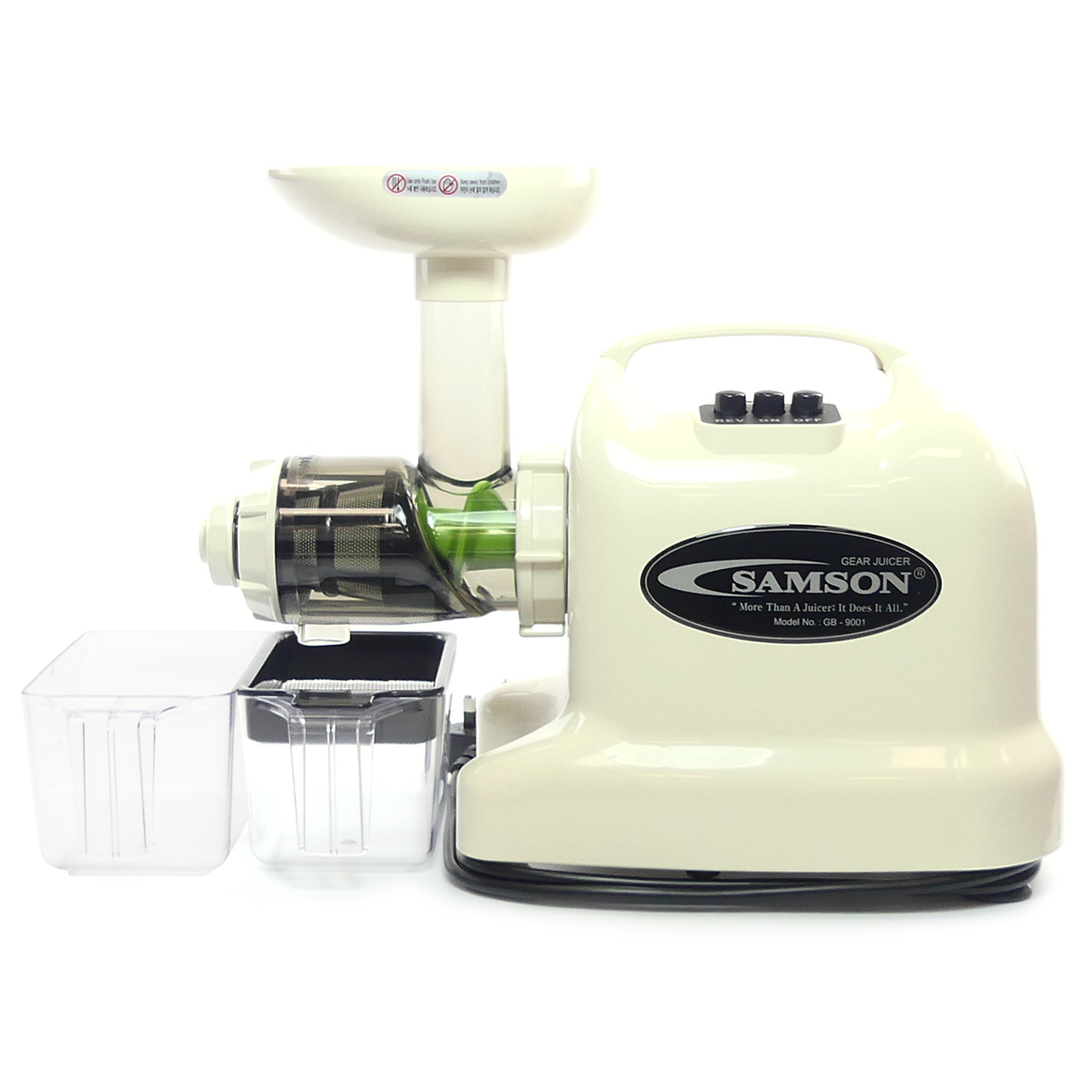 Samson 6 in 1 Juicer GB 9001 - Juicers.ie Ireland\'s No 1 Juicers website