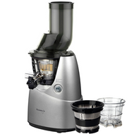 Kuvings B6000S Whole Fruit Juicer in Silver Plus Accessory Pack