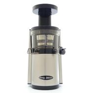 Omega VERT VSJ843RS Slow Juicer in Silver