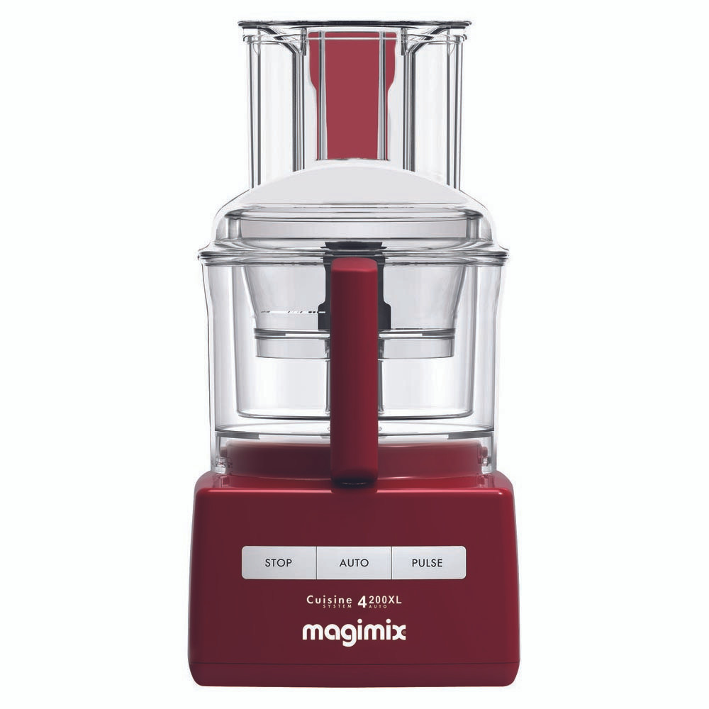 Magimix 4200XL Cuisine Systeme in Red
