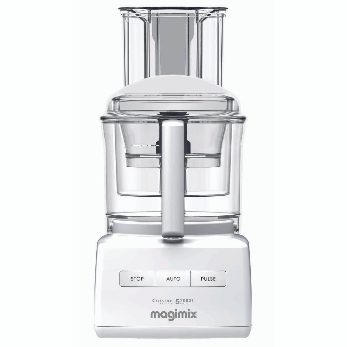 magimix 5200 xl premium in white. Black Bedroom Furniture Sets. Home Design Ideas