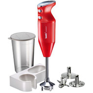 Bamix Mono Hand Blender in Red