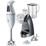 Bamix Classic Selection Hand Blender in White