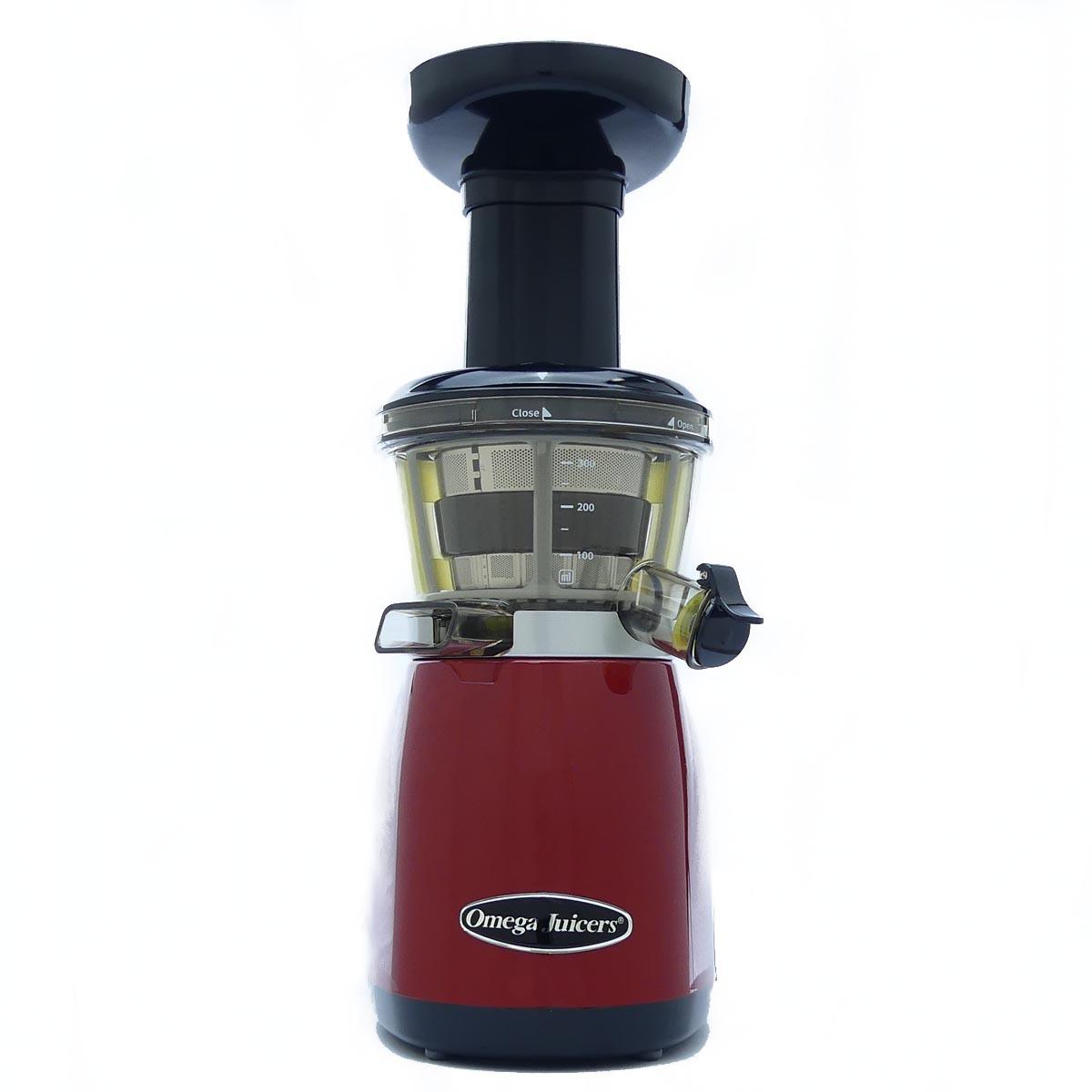Omega Vert VRT 350 HD Juicer in Red