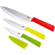 Kuhn Rikon COLORI Classic Cutlery Professional Knife Set