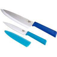 Kuhn Rikon COLORI Classic Cutlery Chef's Knife Set