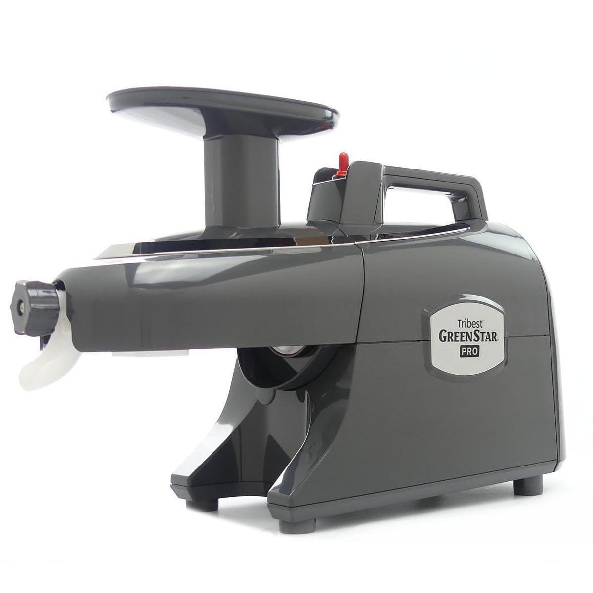 Green Star Pro Commercial Twin Gear Juicer in Grey