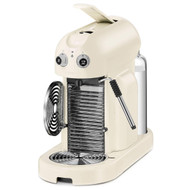 Magimix Nespresso Maestria Coffee Machine in Cream