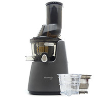 Kuvings C9500 Whole Fruit Juicer in Matte Gunmetal with Accessory Pack