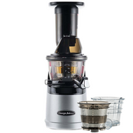 Omega MMV702 Mega Mouth Slow Juicer with Accessories in Silver