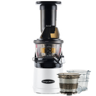 Omega MMV702 Mega Mouth Slow Juicer in White
