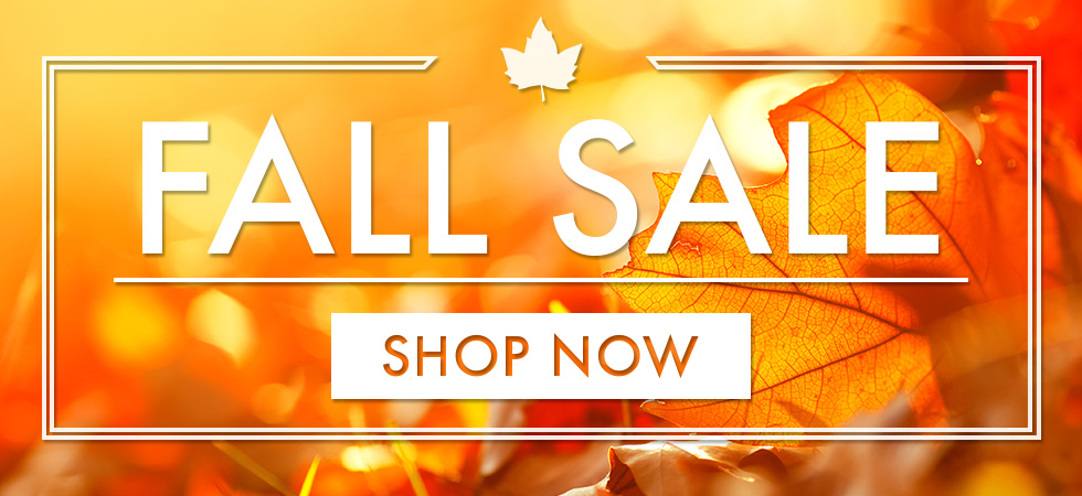 Shop our Fall Sale now