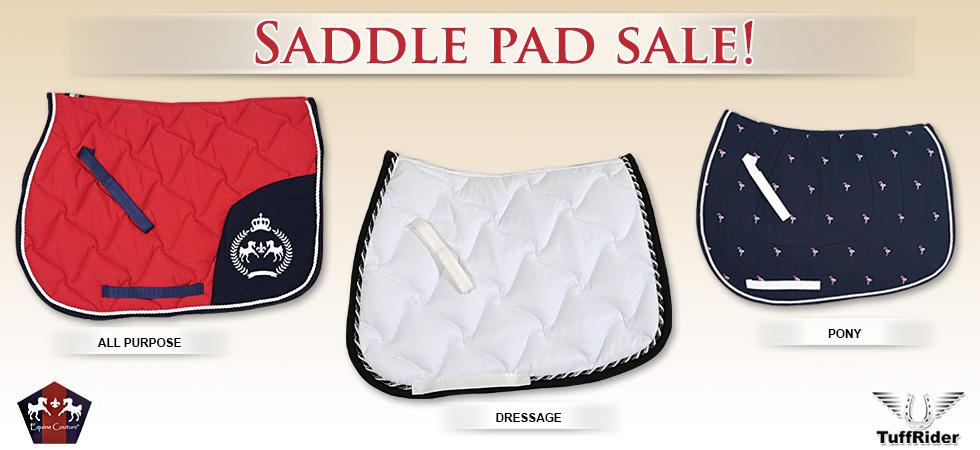 Saddle Pad Sale