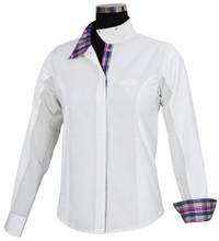 Equine Couture Amber Long Sleeve Show Shirt - Front