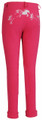 TuffRider Whimsical Horse Embroidered Pull On Jodhpurs - hot pink - back
