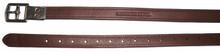 HDR Triple Covered Close Contact Stirrup Leathers - oak bark