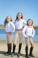 Romfh Child's International Euro Seat Knee Patch Breeches - classic beige
