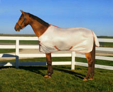 TuffRider Sport Mesh Fly Sheet - frosted almond