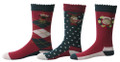 TuffRider Kids Holly 3 Pack Socks