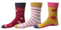 TuffRider Philip Kids 3 Pack Socks