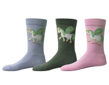 TuffRider Unicorn Kids Socks