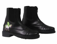 TuffRider Children's Unicorn Starter Front Zip Paddock Boots