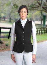 Romfh Bling Dressage Vest - black
