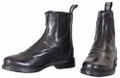 TuffRider Ladies Baroque Front Zip Paddock Boots - black