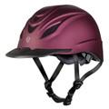 Troxel Intrepid Riding Helmet - mulberry