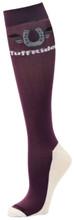 TuffRider CoolMax Boot Socks - lavender
