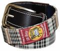 Baker Classic Plaid Belt