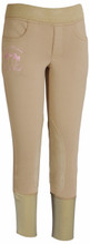 Equine Couture Riding Club Pull On Winter Breeches - safari