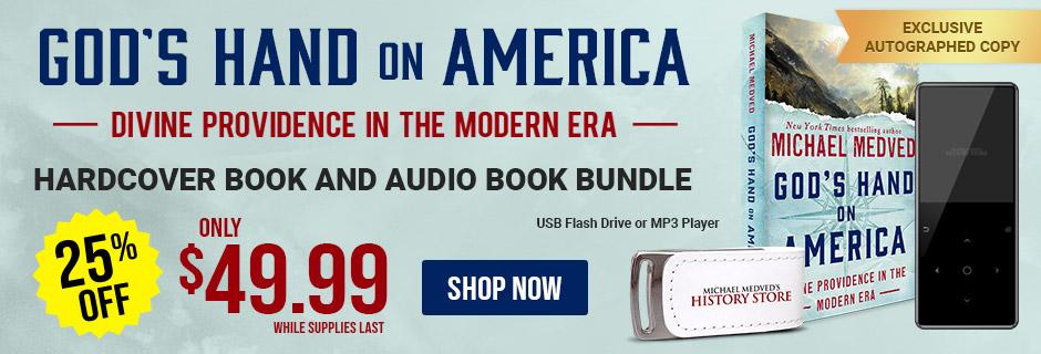 God's Hand on America Audio Book Bundle
