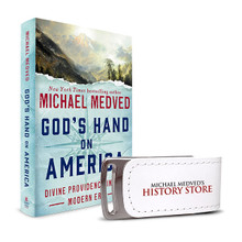 God's Hand on America Hardcover and Audio Book Bundle (USB)