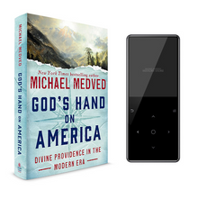 God's Hand on America Hardcover and Audio Book Bundle (MP3)
