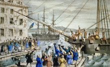The Coming of the American Revolution - The Boston Tea Party - (Audio CD)