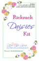 Rickrack flower making kit.