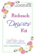 Rickrack flower making kit.