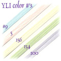 4mm Icy Pastel Silk Ribbon
