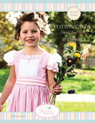 Girl's Cotton Candy dress patterns by Kari Mecca