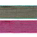 Two-Tone ribbon in rose and green from Kari Me Away