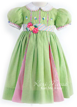 Topsey Turvey Dress Pattern for Girls by Kari Mecca