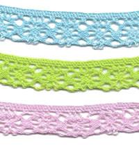Bright Cotton Cluny Lace Trim