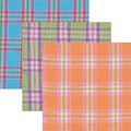 High Quality pima cotton plaid fabric from Kari Me Away