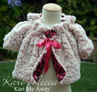 Easy to Sew Minky Coat Pattern By Kari Mecca