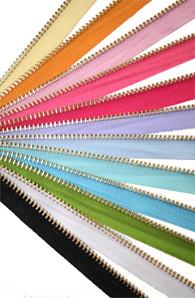 Goldtone Zipper Trim from Kari MeAway